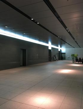 MMパークビルの内装