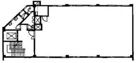 マグナ工業ビル:基準階図面
