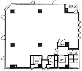 第10平沼ビル:基準階図面