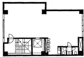 馬喰町三京ビル:基準階図面