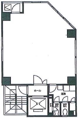 第1明治ビル:基準階図面