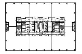 横浜イーストスクエアビル:基準階図面