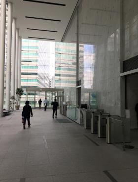 横浜ダイヤビルディングの内装