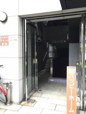 大阪屋ビルのエントランス