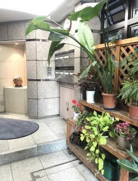 松永新富ビルの内装