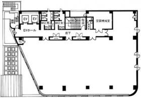 南品川Jビル:基準階図面
