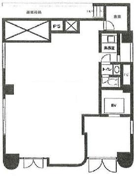 新光第5ビル:基準階図面