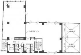 ヨコハマジャスト2号館:基準階図面
