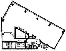 シンデン本社ビル:基準階図面