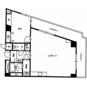 小金井第1ビル:基準階図面