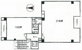 ウィスタリア東五反田ビル:基準階図面