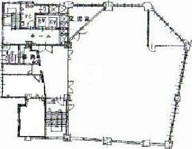 第1電波ビル:基準階図面