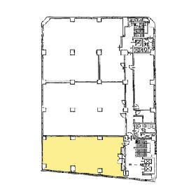 第2電波ビル:基準階図面