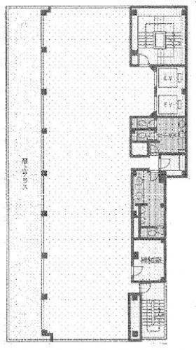 GM21ビル:基準階図面