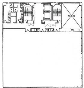 横浜HSビル:基準階図面