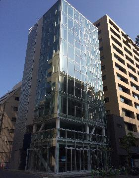 東京石灰工業(株)東石ビルの外観写真