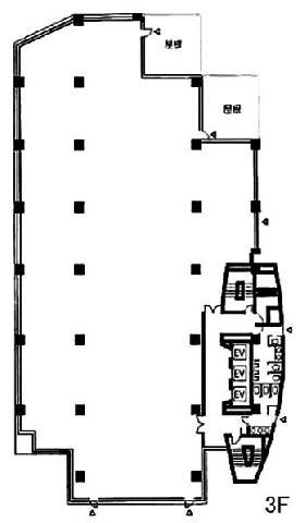 光陽ビル:基準階図面