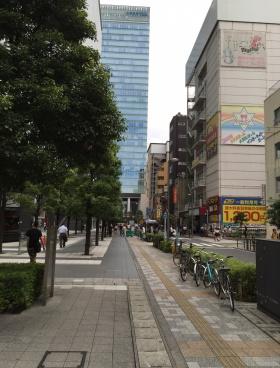 東京タイムズタワーの内装