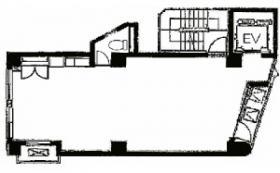 第一ビル(東麻布):基準階図面
