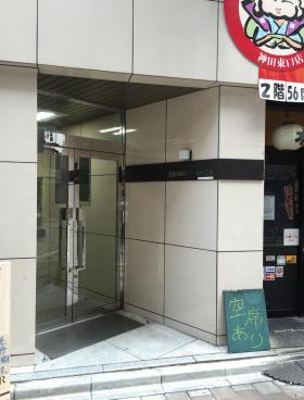 日宝神田イースト(旧:K・Kビルのエントランス