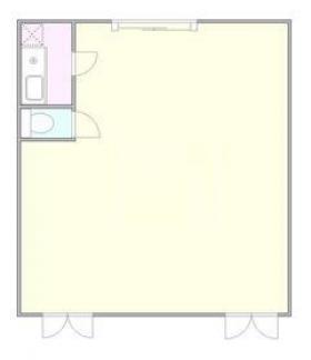 プラウド新宿御苑エンパイア:基準階図面