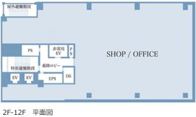 大倉本館(オオクラハウス)ビル:基準階図面