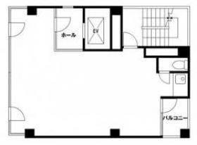 須藤ビル(旧アマイビル):基準階図面