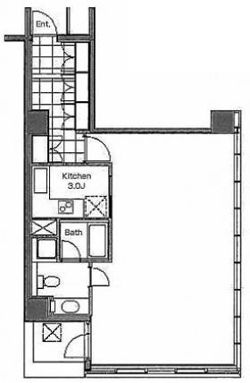プレイアデ一番町ビル:基準階図面