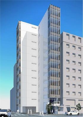 55-1京橋ビルのエントランス