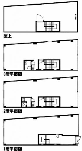 丹京ビル:基準階図面