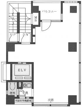 Barbizon18:基準階図面