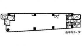 翔和No.8神田ビル:基準階図面