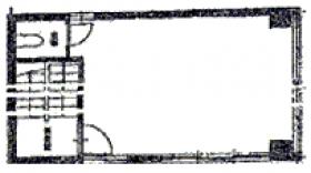 錦光社ビル:基準階図面
