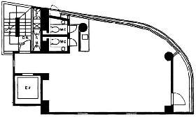 9STAGE kanda:基準階図面