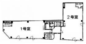 石川COビル:基準階図面