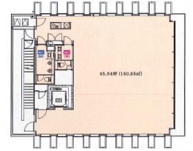 KKD 旧)紀尾井町KKDビル:基準階図面