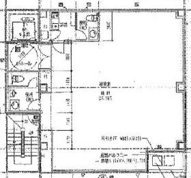 協栄ビル:基準階図面