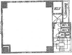 ティアラグレイス銀座タワー:基準階図面