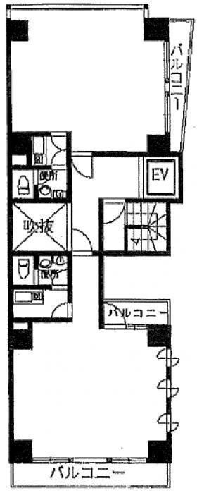 OHD練馬ビル:基準階図面
