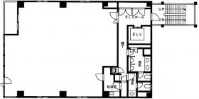 NS京橋ビル:基準階図面