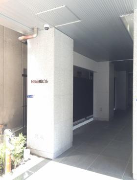 NS京橋ビルのエントランス