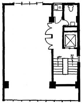 パールビル:基準階図面