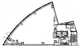 Zenken PlazaⅡ:基準階図面