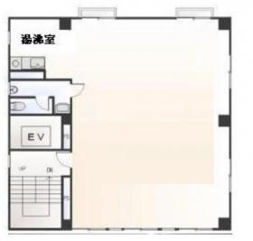 早稲田オアシスビル:基準階図面