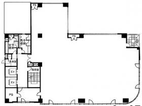 ユニゾ北上野二丁目(旧UCJ上野)ビル:基準階図面