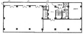 菱興高島台第3ビル:基準階図面