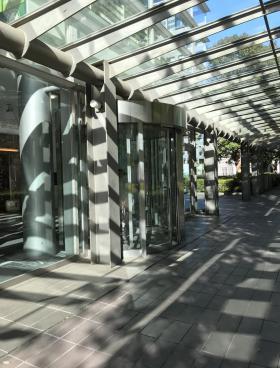 エキスパートオフィス品川ビルのエントランス
