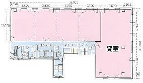 住友生命西新橋ビル:基準階図面