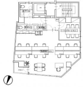 水道橋サウスビル(糸賀ビル):基準階図面