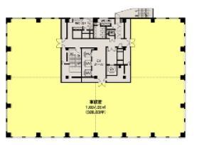 神谷町プライムプレイス:基準階図面